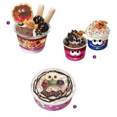 ハロウィンアイスクリーム